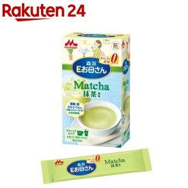 Eお母さん 抹茶風味(18g*12本入)【KENPO_12】【Eお母さん】