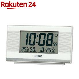 セイコー 電波目覚し時計 SQ791W(1個)【セイコー】