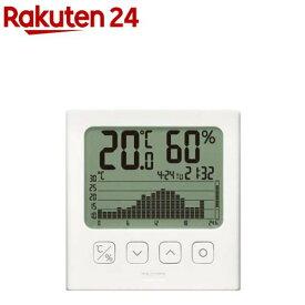 タニタ デジタル温湿度計 TT-580-WH(1個)【タニタ(TANITA)】