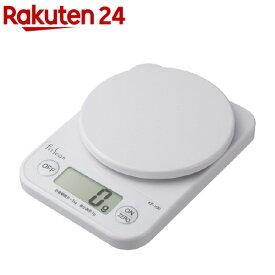 タニタ デジタルクッキングスケール ホワイト KF-100-WH(1台)【タニタ(TANITA)】