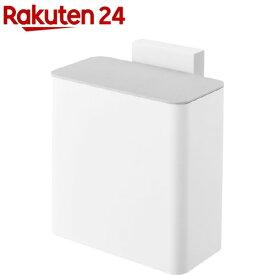 マグネット&シンク扉ゴミ箱 プレート ホワイト(1個)