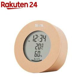 タニタ デジタル温湿度計 ブラウン TT-585-BR(1個)【タニタ(TANITA)】