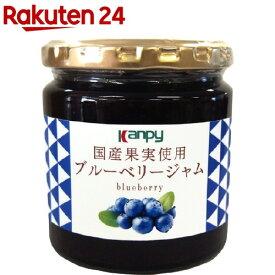 カンピー 国産果実使用 ブルーベリージャム(260g)【Kanpy(カンピー)】