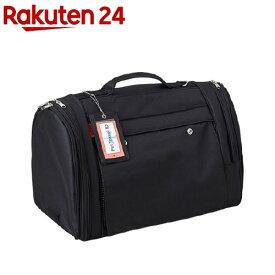 ペット用バックパックキャリー フルカバー ブラック M 〜5kg(1コ入)
