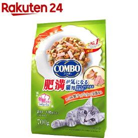 コンボ キャット 肥満が気になる猫用 かつお味・鮭チップ・かつお節添え(140g*5袋入)【コンボ(COMBO)】[キャットフード]