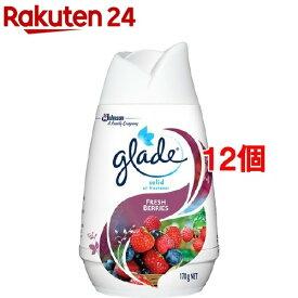 グレード ソリッドエアフレッシュナー フレッシュベリー(170g*12個セット)【グレード(Glade)】