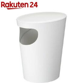 エノッツ サイドテーブル Wホワイト(1コ入)[ゴミ箱]