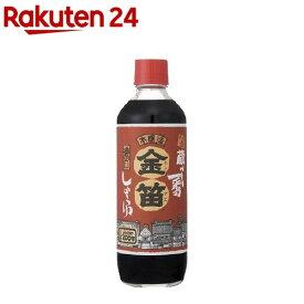 金笛 濃口醤油(600ml)