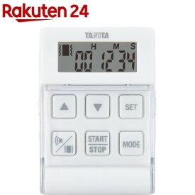 タニタ バイブレーションタイマー24時間計 クイック ホワイト TD-370N-WH(1台)【タニタ(TANITA)】