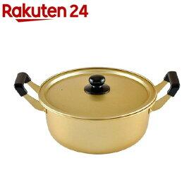 アルミ 両手鍋 26cm ガス火専用 豊味庵 RA-9702(1コ入)