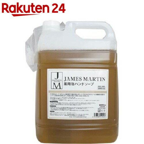 ジェームズマーティン フレッシュサニタイザー 薬用泡ハンドソープ 詰め替え用(5kg)【ジェームズマーティン】【送料無料】