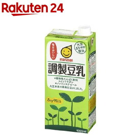 マルサン 調製豆乳(1L*6本入)【マルサン】