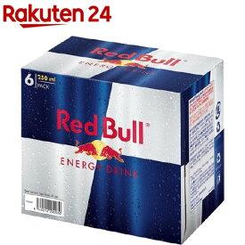 レッドブル エナジードリンク(250ml*6本入)【Red Bull(レッドブル)】