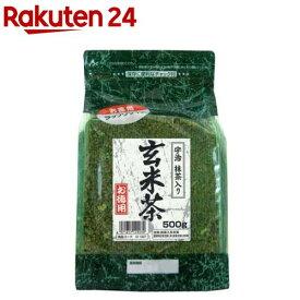 国太楼 たっぷり抹茶入玄米茶(500g)