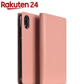 SLG iPhone XR カーフスキンレザーダイアリー ベビーピンク SD13703i61(1個)【SLG Design(エスエルジーデザイン)】