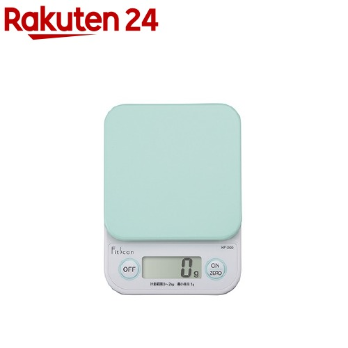 タニタ デジタルクッキングスケール グリーン KF-200(1台)【タニタ(TANITA)】
