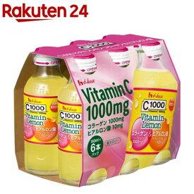 C1000 ビタミンレモン コラーゲン&ヒアルロン酸(140ml*6本入)【C1000】