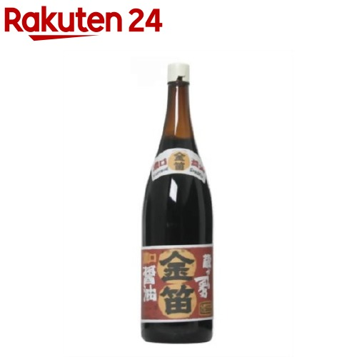 金笛 本醸造 濃口しょうゆ(1.8L)【イチオシ】【金笛】