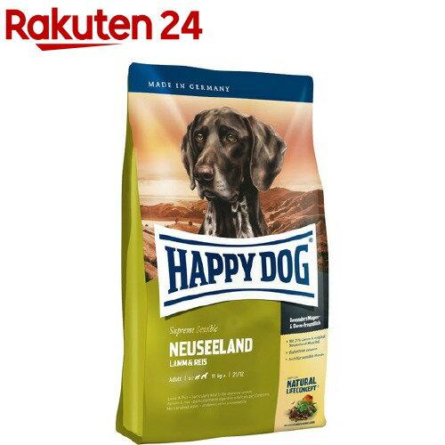 ハッピードッグ スプリーム・センシブル ニュージーランド(ラム&ライス) 食物に敏感な中-大型犬の消化器ケア 成犬-高齢犬用 大粒(12.5kg)【ハッピードッグ】