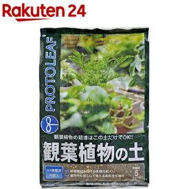 プロトリーフ 観葉植物の土(5L)【プロトリーフ】