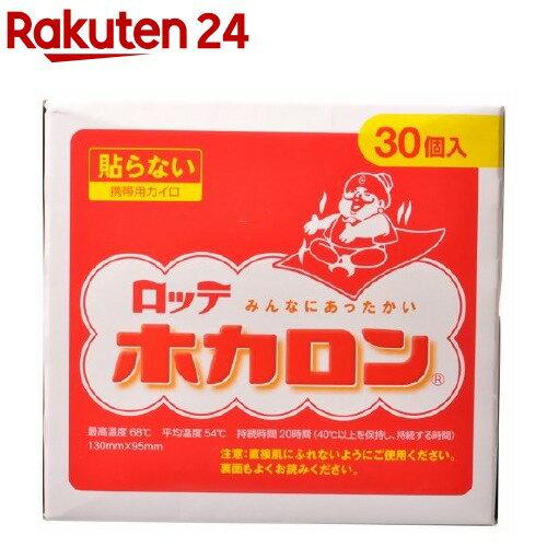 カイロ/貼らないホカロン(30コ入)【ホカロン】