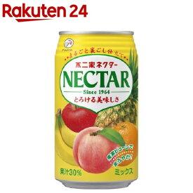 不二家 ネクター ミックス 缶(350g*24本入)【ネクター】