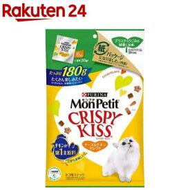 モンプチ クリスピーキッス チーズ&チキンセレクト(180g)【dalc_monpetit】【qqy】【qqk】【モンプチ】