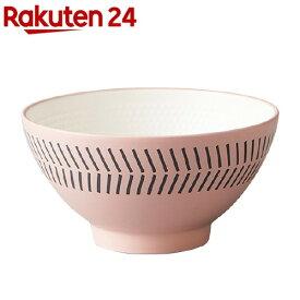 茶碗 Mamma ピンク T-96406(1個)【Mamma(マンマ)】