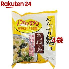 トーエー どんぶり麺・きつねうどん 21175(4コ)