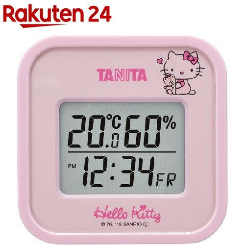 タニタ温湿度計ハローキティピンクTT-558-KTPK