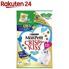 モンプチ クリスピーキッス とびきり贅沢おさかな味(180g)【dalc_monpetit】【qqy】【qqk】【モンプチ】