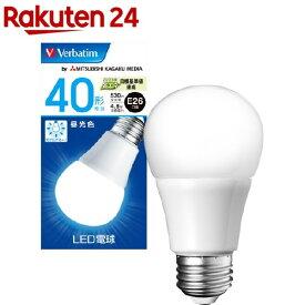 バーベイタム LED電球 E26 40W相当 昼光色 LDA5D-G/V6(1個)【バーベイタム】