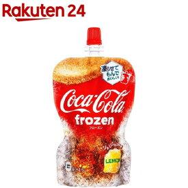 コカ・コーラ フローズンレモン(125g*6本入)【コカコーラ(Coca-Cola)】