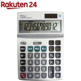 電卓 デスクトップ 多機能タイプ M ECD‐2112S(1台)