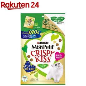 モンプチ クリスピーキッス とびきり贅沢チキン味(180g)【dalc_monpetit】【qqy】【qqk】【モンプチ】