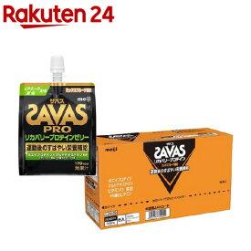 ザバス リカバリープロテインゼリー ミックスフルーツ風味(180g*6個入)【sav01】【ザバス(SAVAS)】