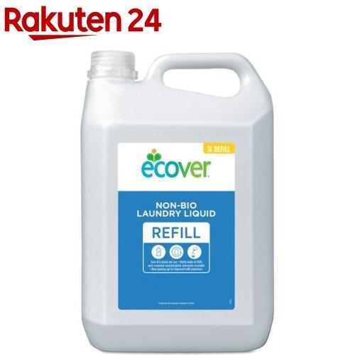 エコベール ランドリーリキッド リフィル 大容量パック 洗たく用液体洗剤(5L)【ebq】【送料無料】