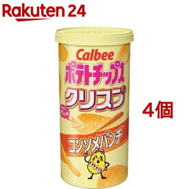 カルビー ポテトチップス クリスプ コンソメパンチ(50g*4個セット)【カルビー ポテトチップス】