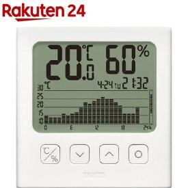 グラフ付きデジタル温湿度計 TT-581(1個)