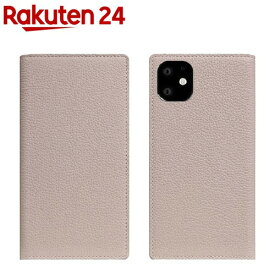 SLG Design iPhone 11 Full Grain Leather Case ライトクリーム SD17910i61R(1個)【SLG Design(エスエルジーデザイン)】