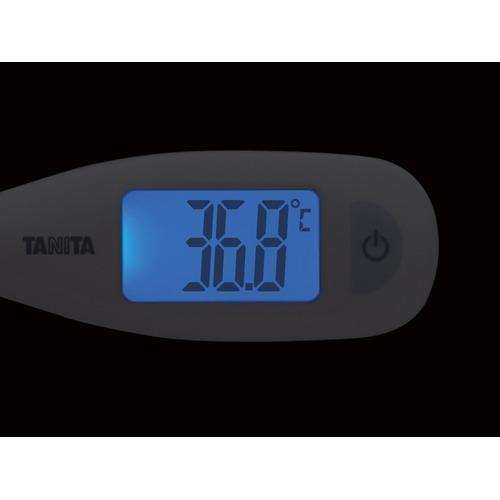 タニタ電子体温計20秒予測+実測バックライト付グレーBT-471-GY