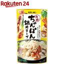 モランボン 海鮮ちゃんぽん 鍋用スープ(750g)