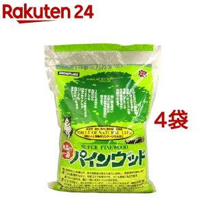 猫砂 パインウッド(6L*4コセット)