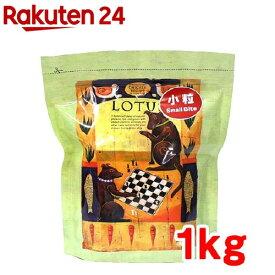 ロータス シニア チキンレシピ 小粒(1kg)【ロータス】