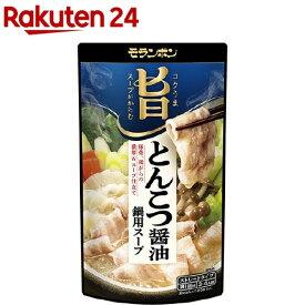コク旨スープがからむ とんこつ醤油鍋用スープ(750g)
