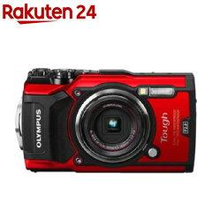 オリンパスコンパクトデジタルカメラTOUGHTG-5レッド