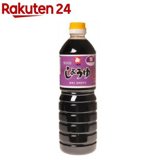 一騎醤油 濃口醤油「紫」(1000mL)【イチオシ】【みどり屋本店】