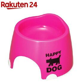 小型犬専用フードボウル すべり止め付 ピンク(1コ入)