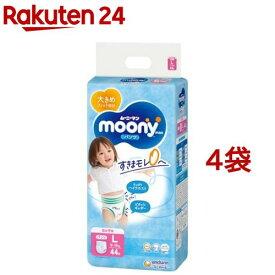 ムーニーマンエアフィット パンツ 女の子用(Lサイズ*44枚入*4コセット)【KENPO_09】【moon01】【KENPO_12】【mnm8】【ムーニーマン】