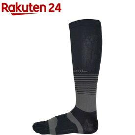 ランニングハイソックス 5本指タイプ TRR-211H 10 ブラック M(1足)【R*L(アールエル)】